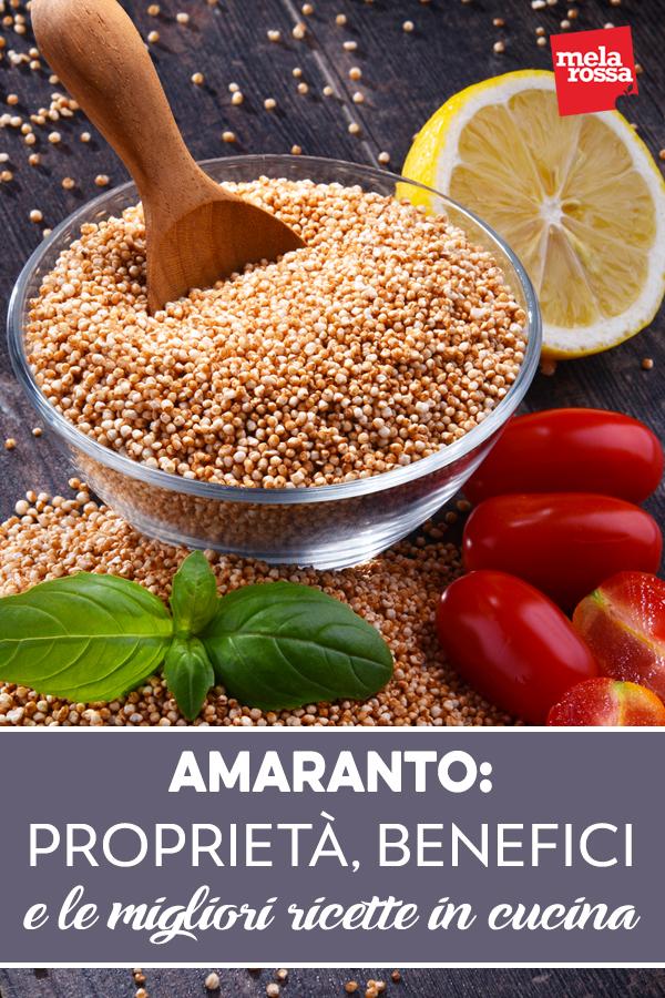 le proprietà dell'amaranto