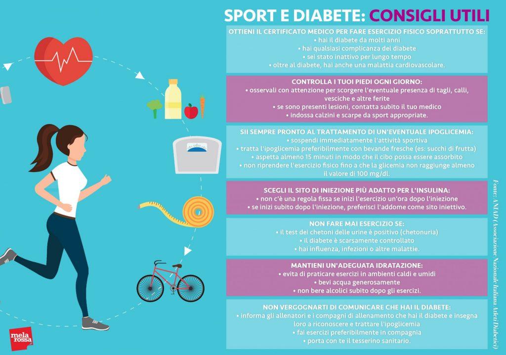 attività fisica e diabete: consigli utili