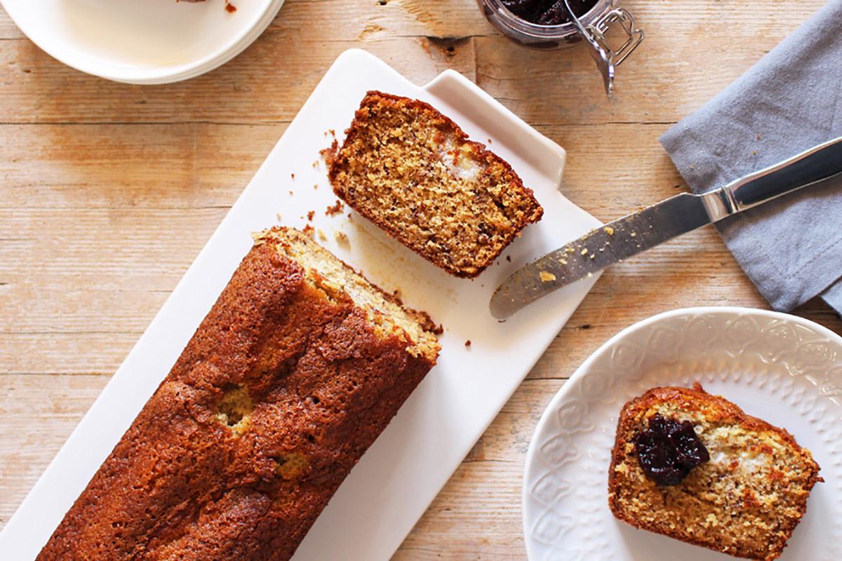 ricette con banane: banana bread