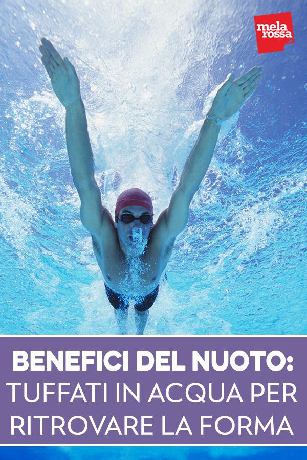 benefici del nuoto