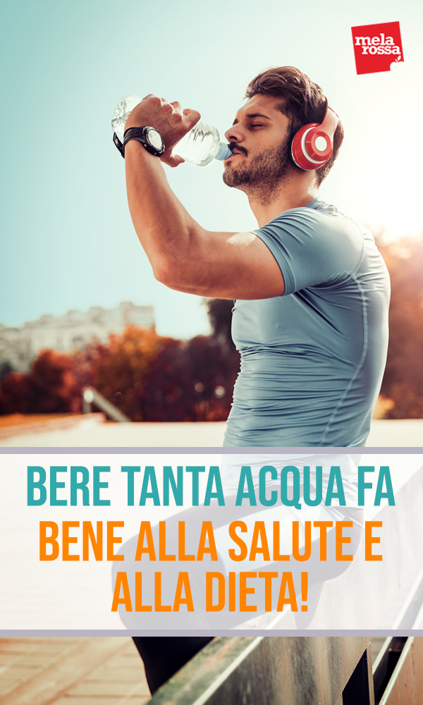 bere tanta acqua fa bene alla dieta