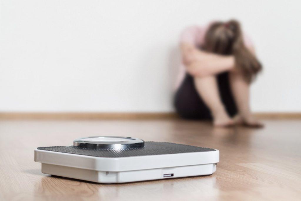 le complicanze possibili dell'anoressia nervosa