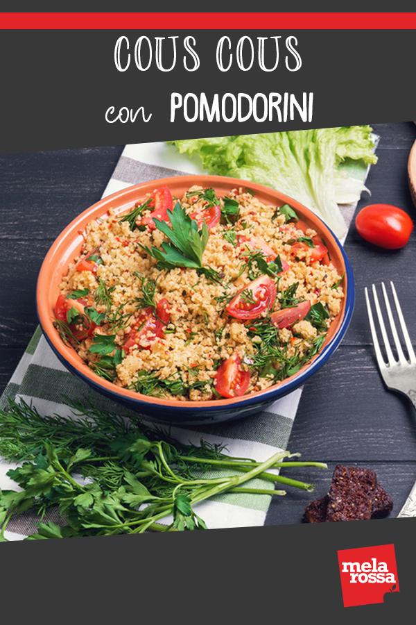 cous cous con pomodorini ricetta