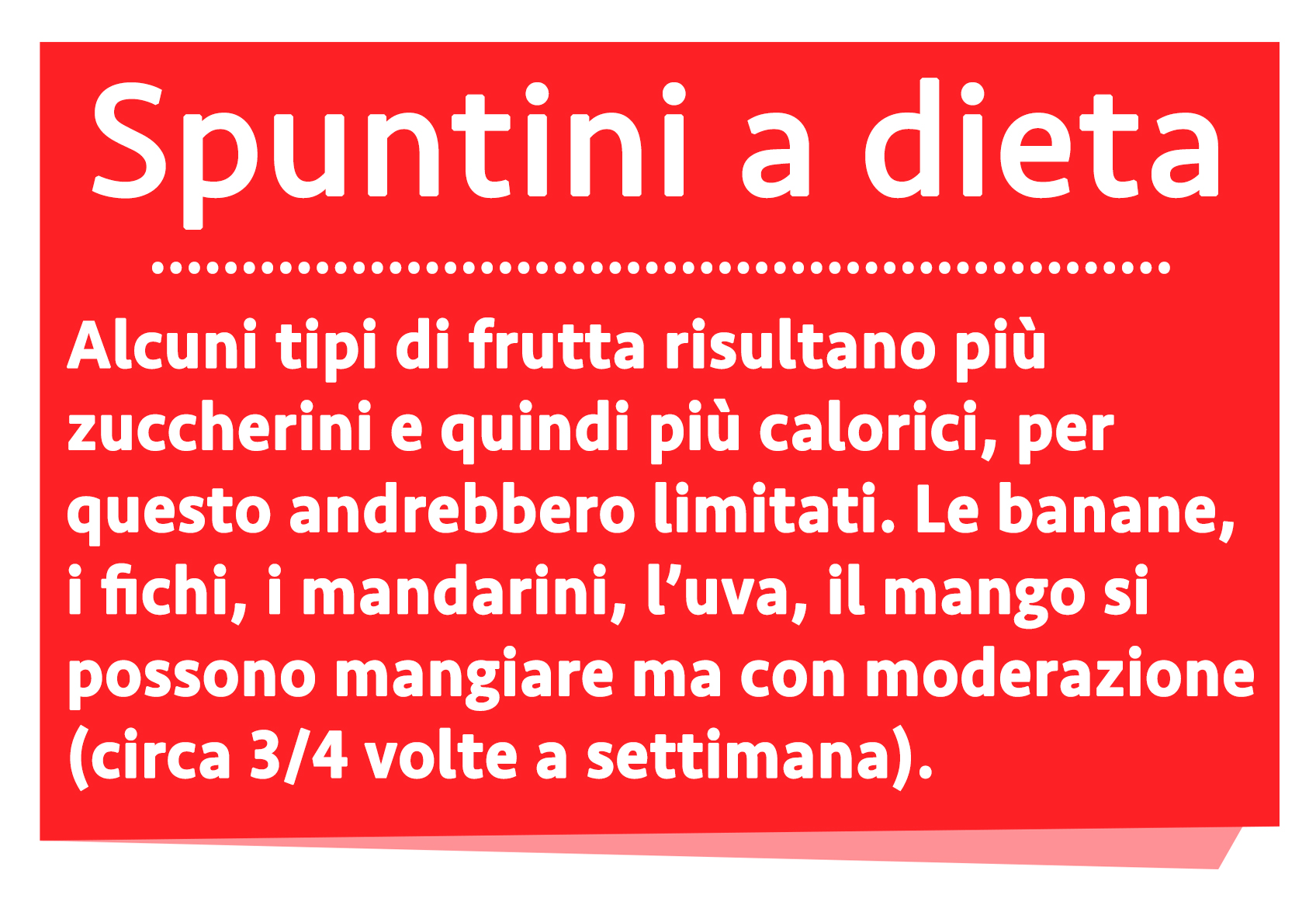 dieta del panino spuntini a dieta