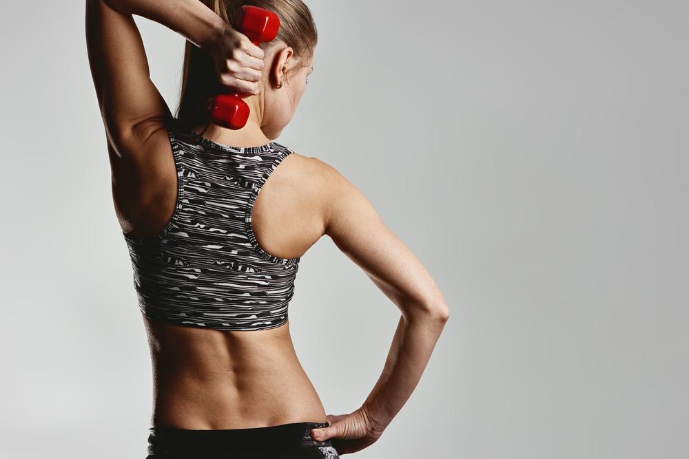 esercizi per le braccia: circuito allenamento per tonificare braccia