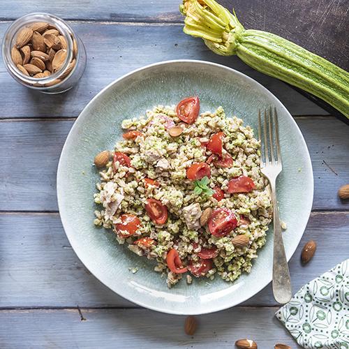 ricetta insalata di farro e tonno