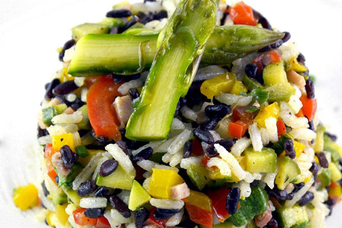 insalate di cereali, insalata di riso night & day
