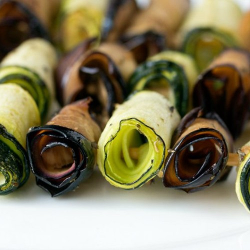 involtini zucchine gratinate