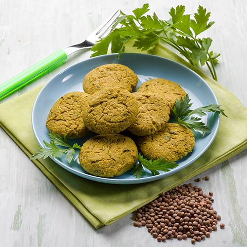 mini balls cous cous lenticchie
