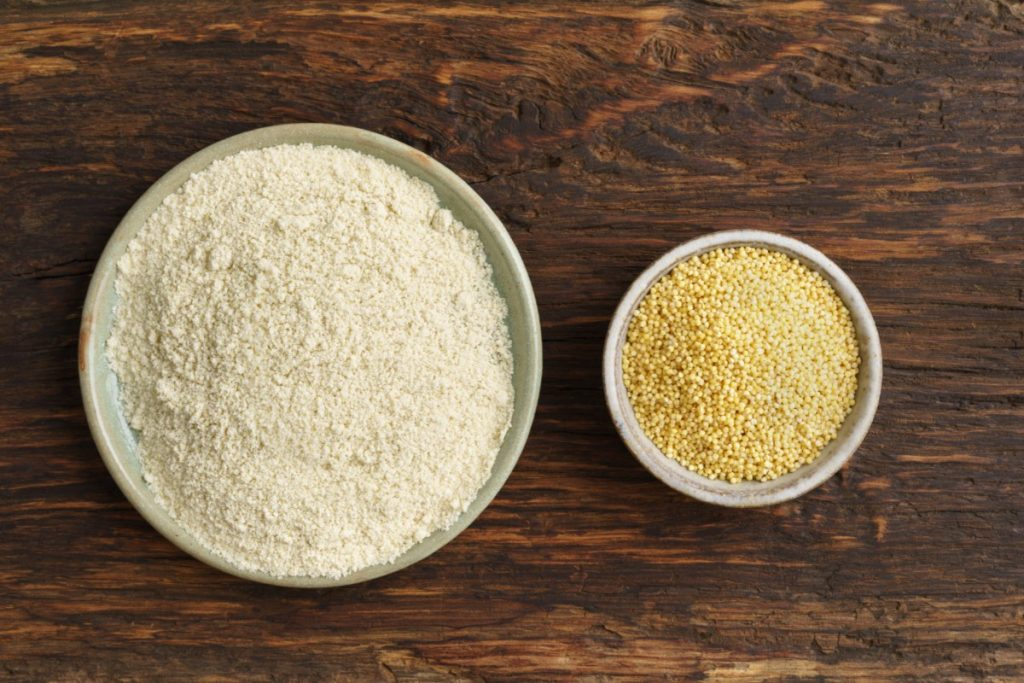 modi di utilizzo: la farina di miglio