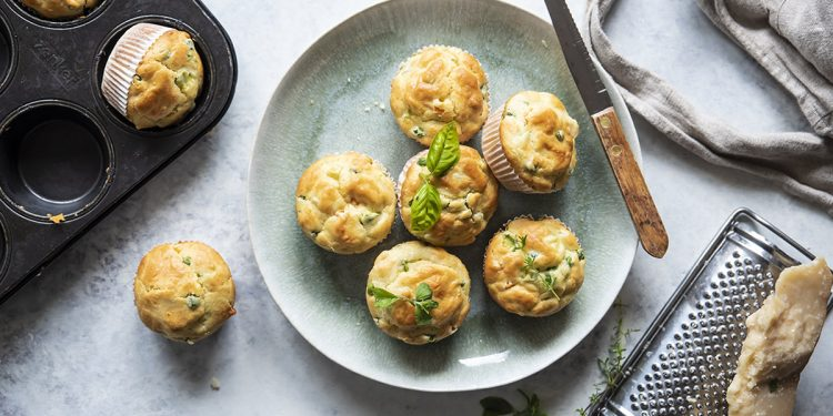muffin di verdure
