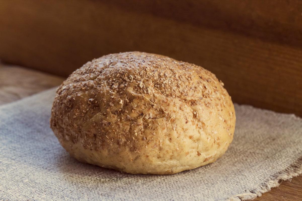 pane fatto in casa, pane di semola con pasta madre