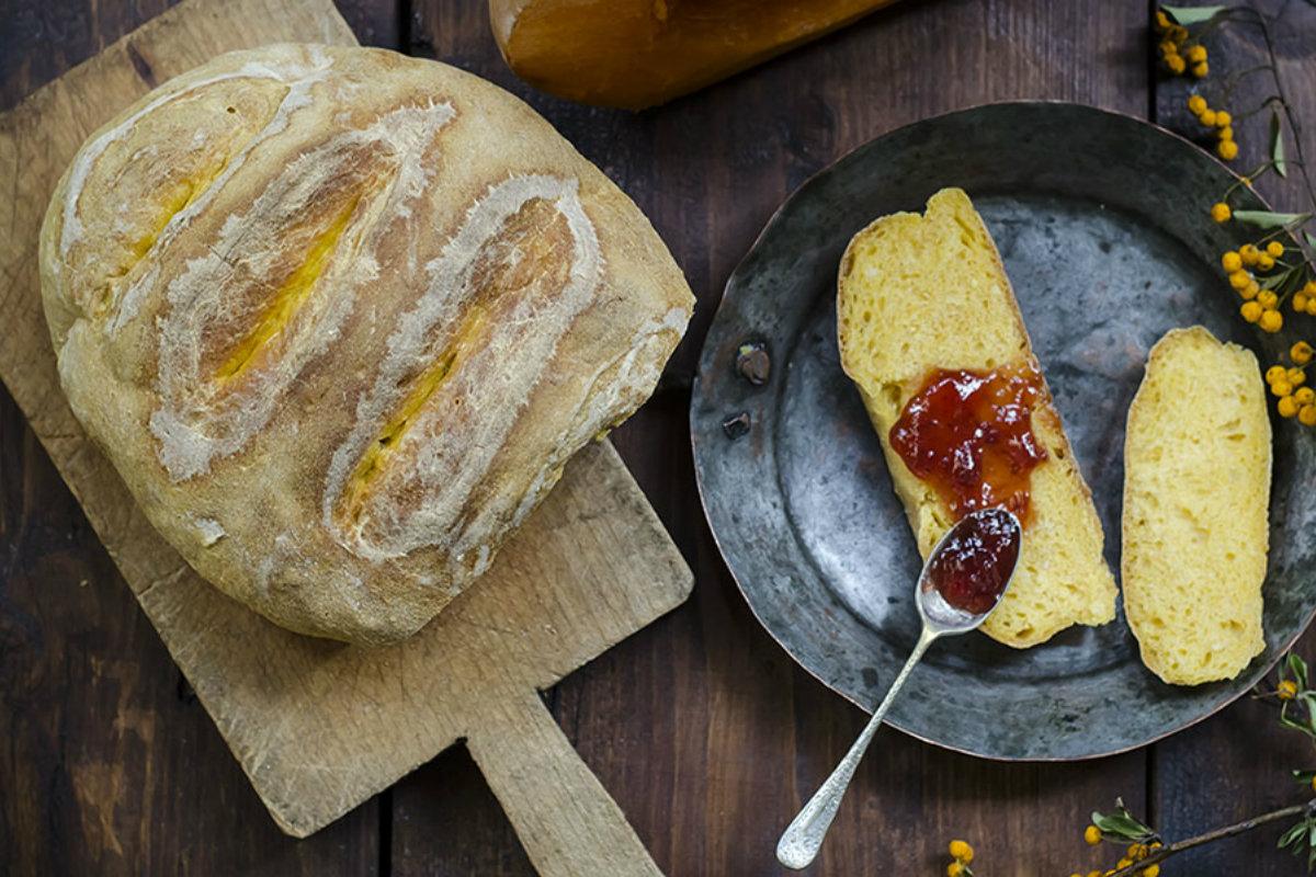pane fatto in casa, pane morbido alla zucca