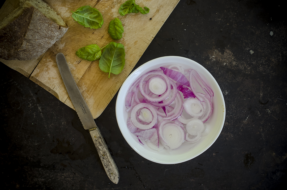 panzanella verdure cipolla