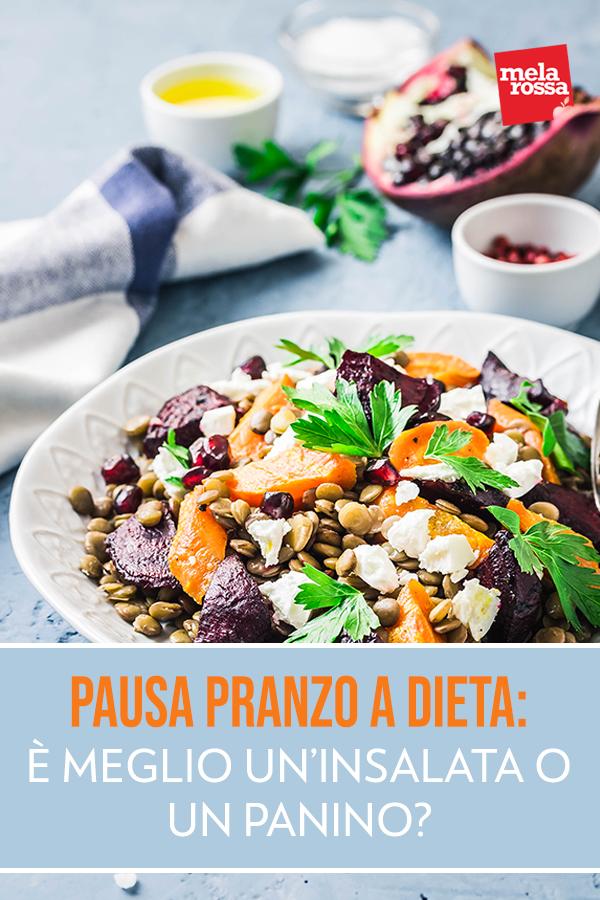 pausa pranzo a dieta