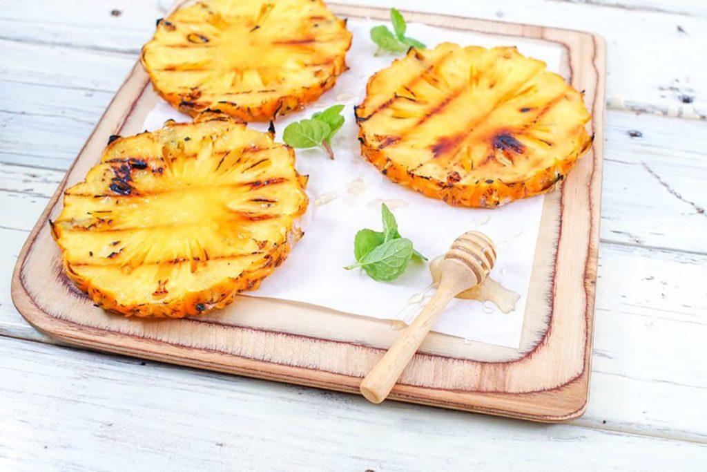 ricette con ananas: ananas grigliato