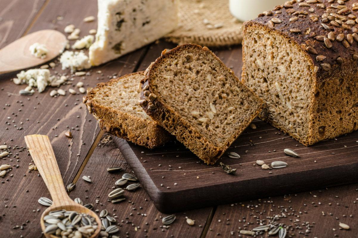 ricette con pane fatto in casa, il pane integrale