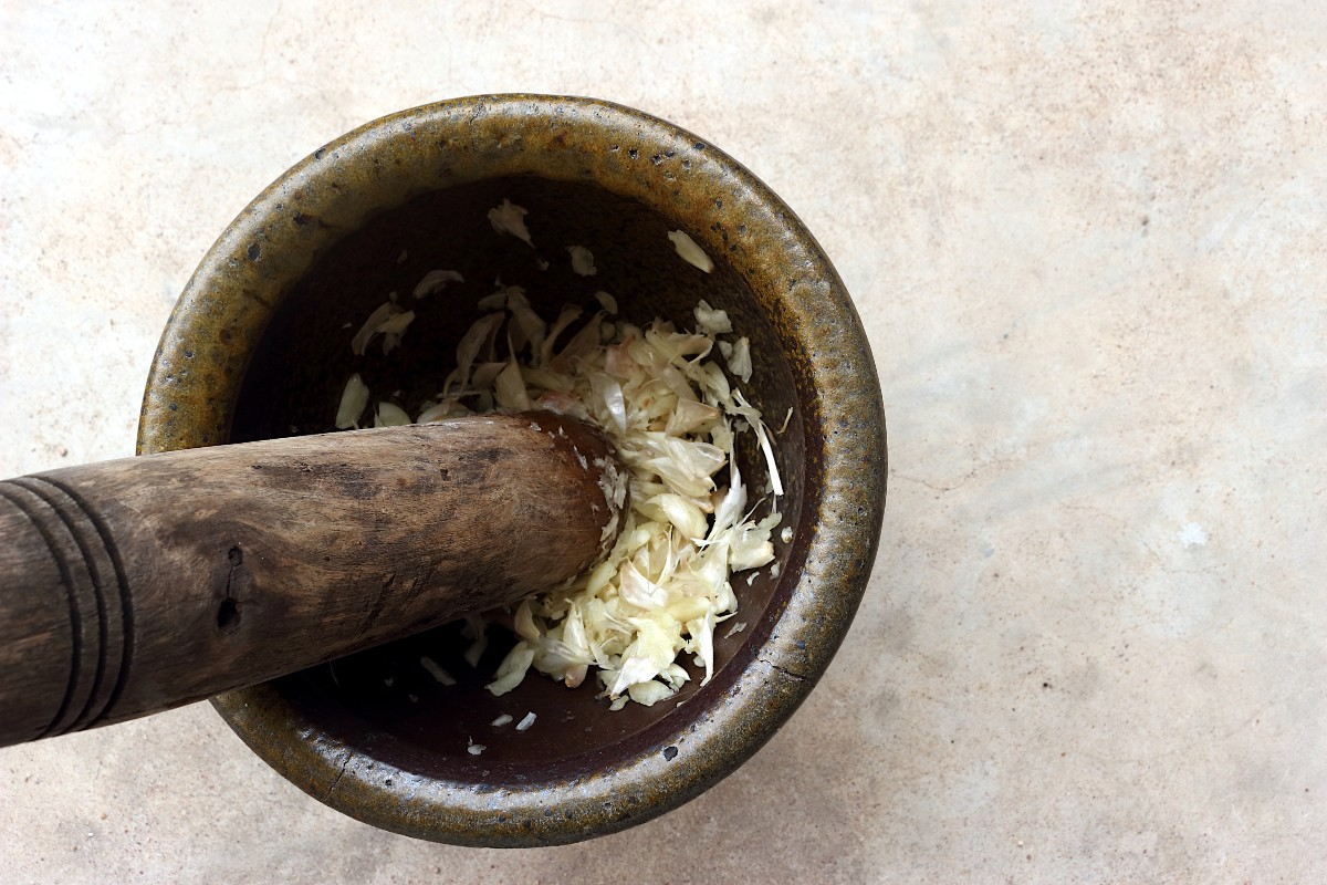 salsa aioli con aglio