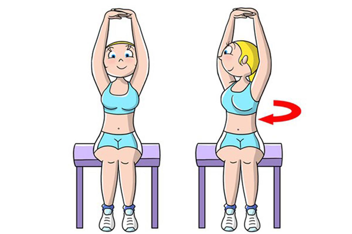 Snellire il girovita: yoga esercizio diamante