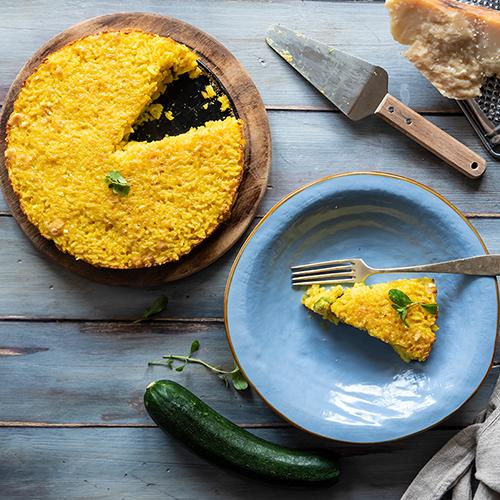 torta di riso gratinata
