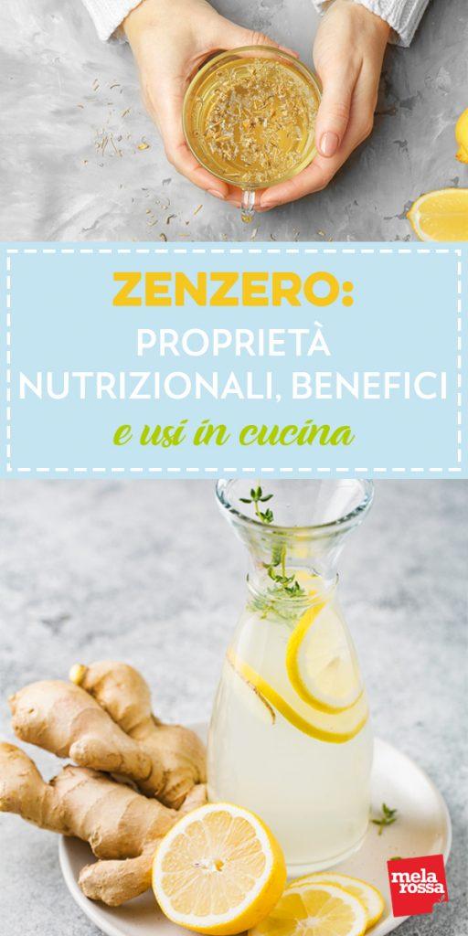 zenzero: proprieta nutrizionali e benefici