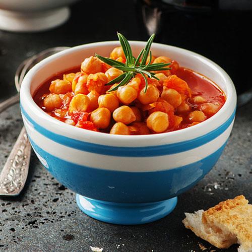 zuppa di ceci al rosmarino