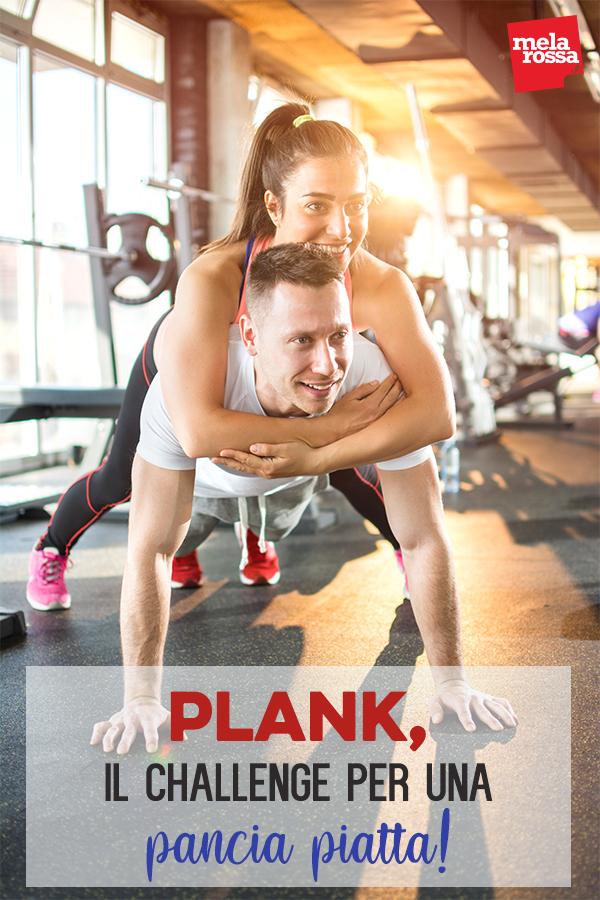 plank challenge pancia piatta