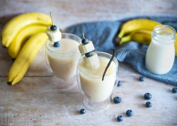 tè bianco vaniglia e banane