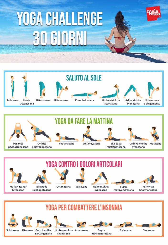 yoga-challenge: il programma di 30 giorni per ritrovare la forma