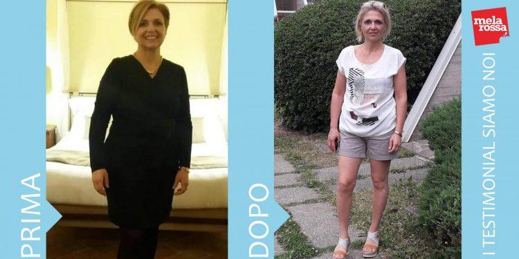Rosaria, - 15 chili con la dieta Melarossa