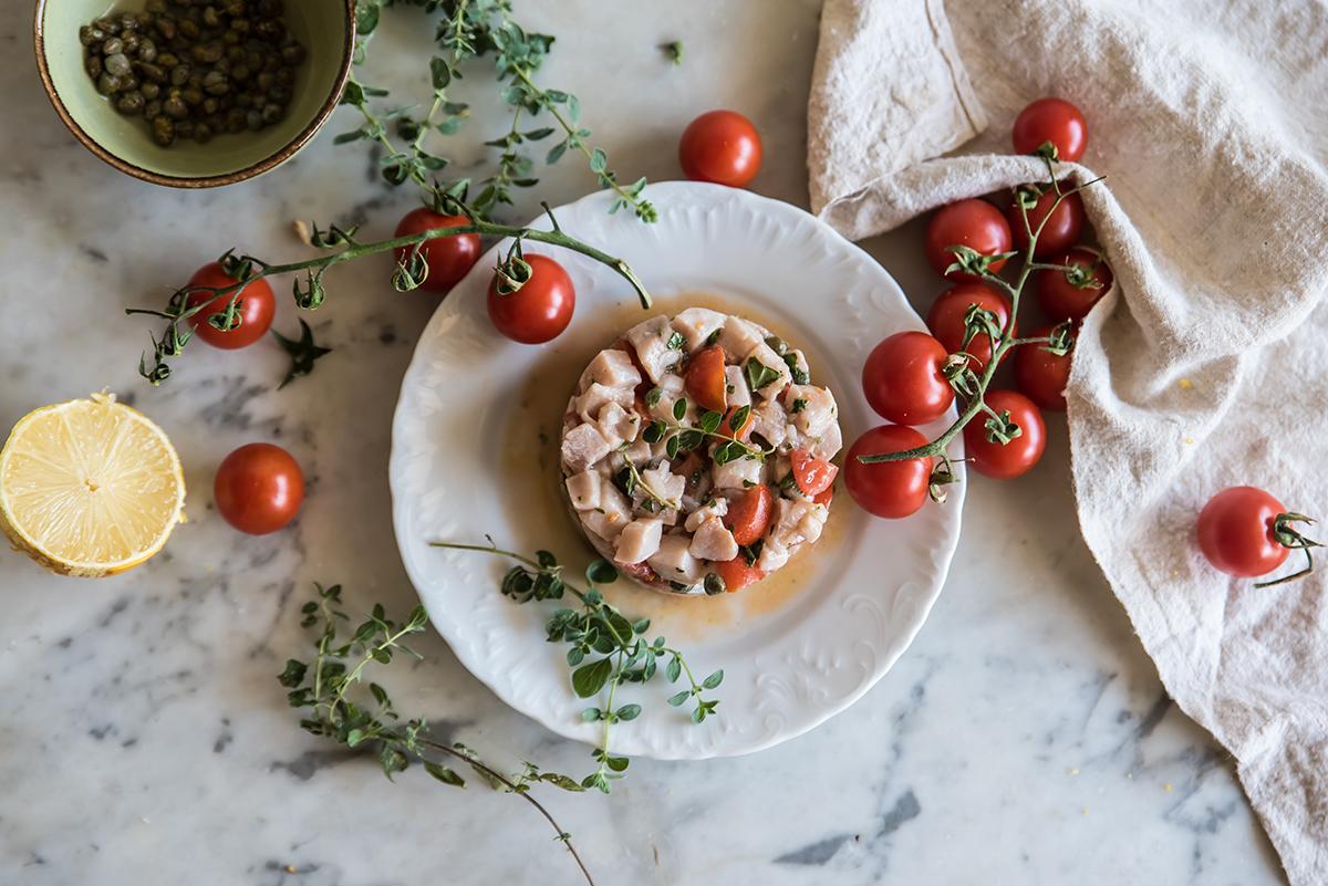 ebook estate di Melarossa: tartare di pesce spada