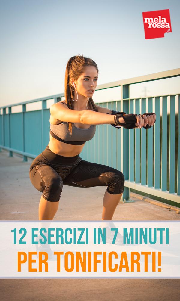 12 esercizi in 7 minuti