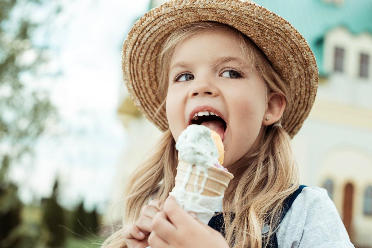 gelato a merenda: le regole