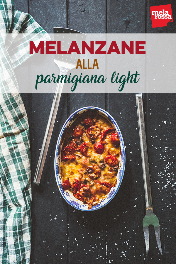 melanzane parmigiana light