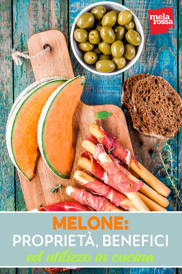 melone: proprieta, benefici,ricette