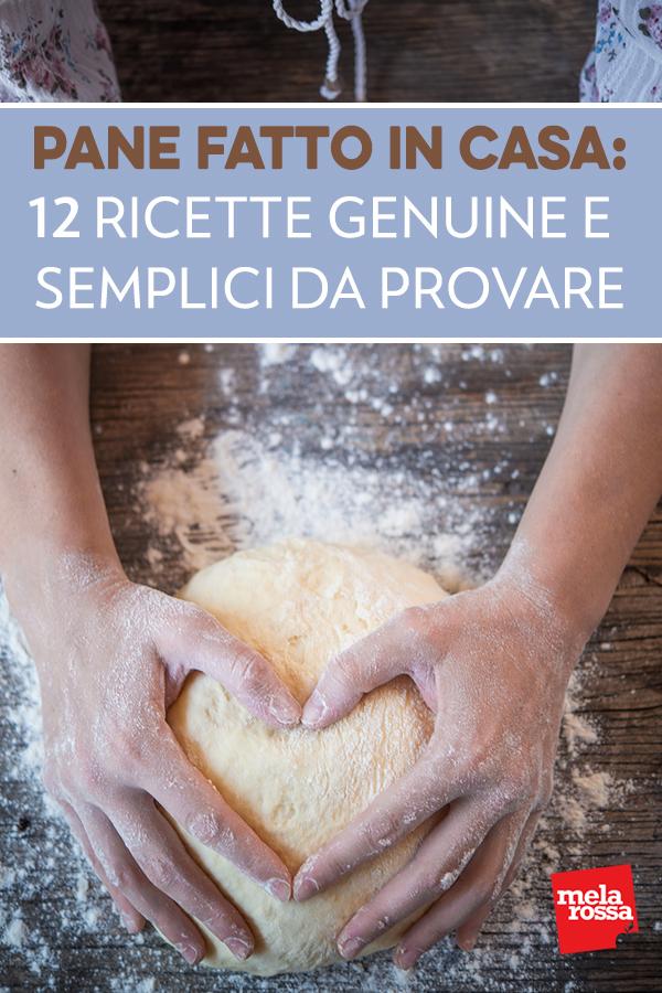 pane fatto in casa: ricette
