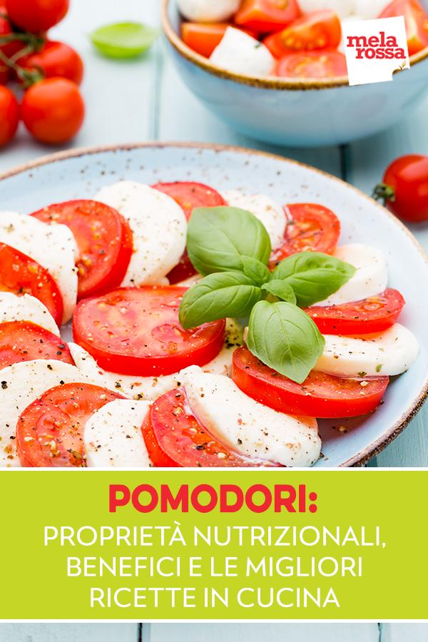 pomodori: proprieta, benefici