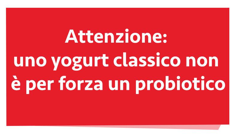 probiotici e yogurt