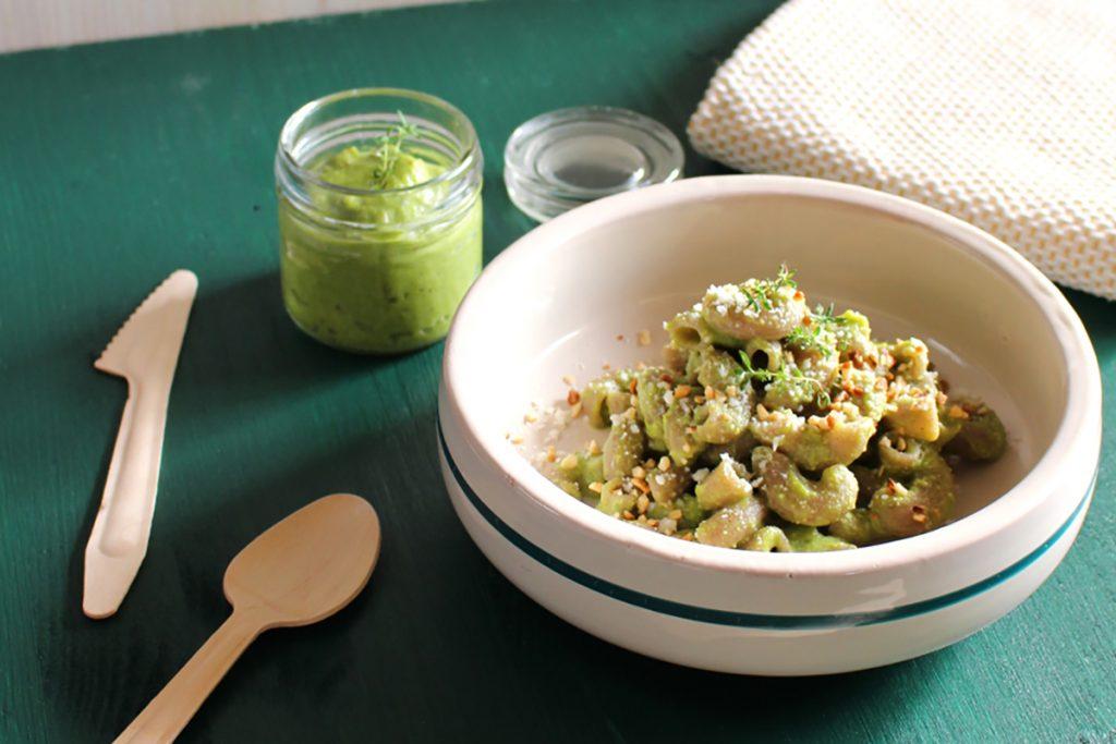 ricette con grano saraceno pasta di grano saraceno al pesto di asparagi e mandorle