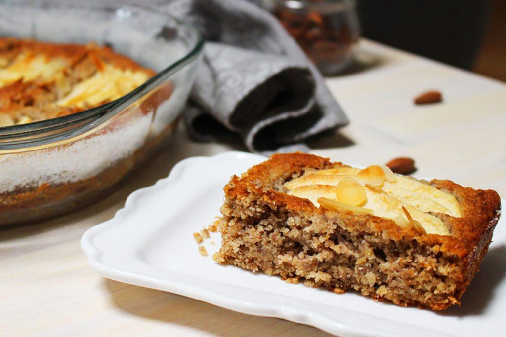 ricette con grano saraceno torta di mele e grano saraceno, profumata e light