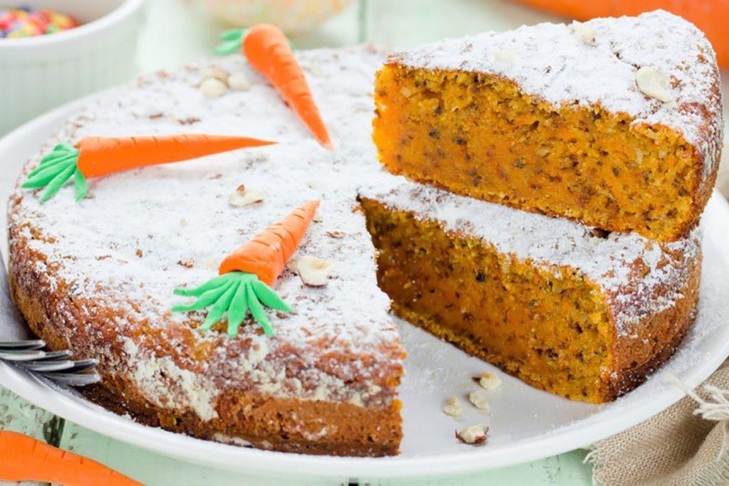 ricette con grano saraceno torta con farina di grano saraceno e carote
