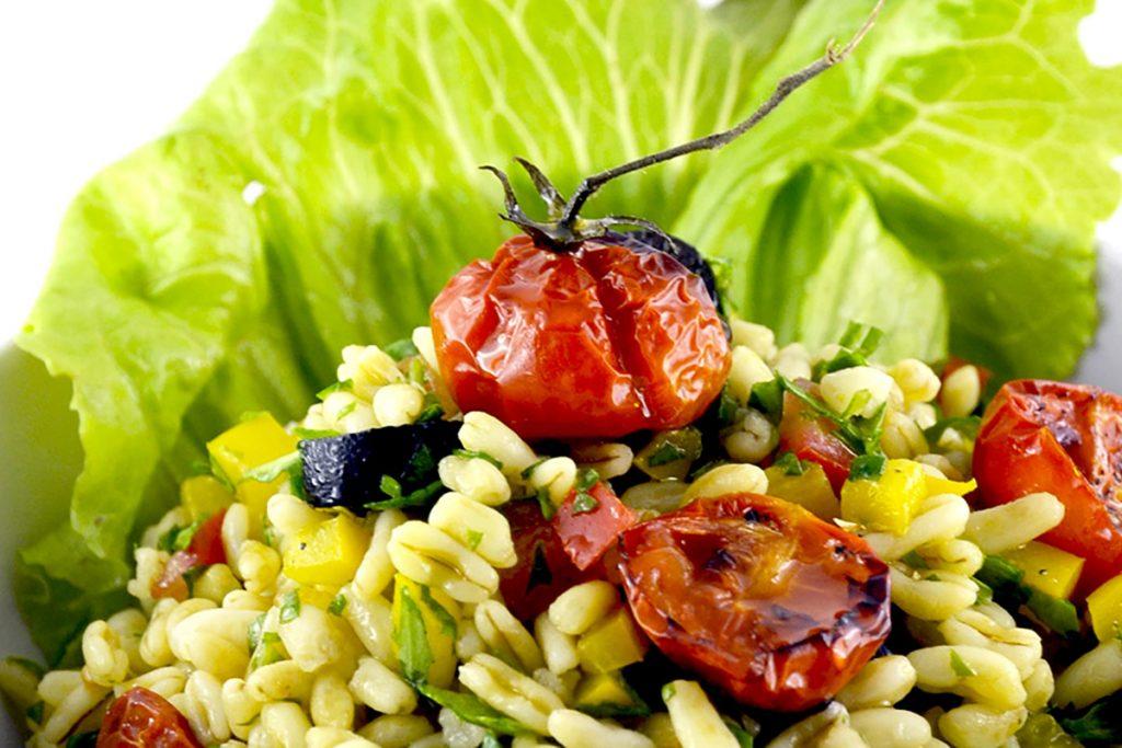 ricette con kamut insalata di kamut con pomodorini confit