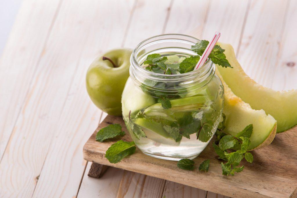 ricette con melone acqua detox melone menta