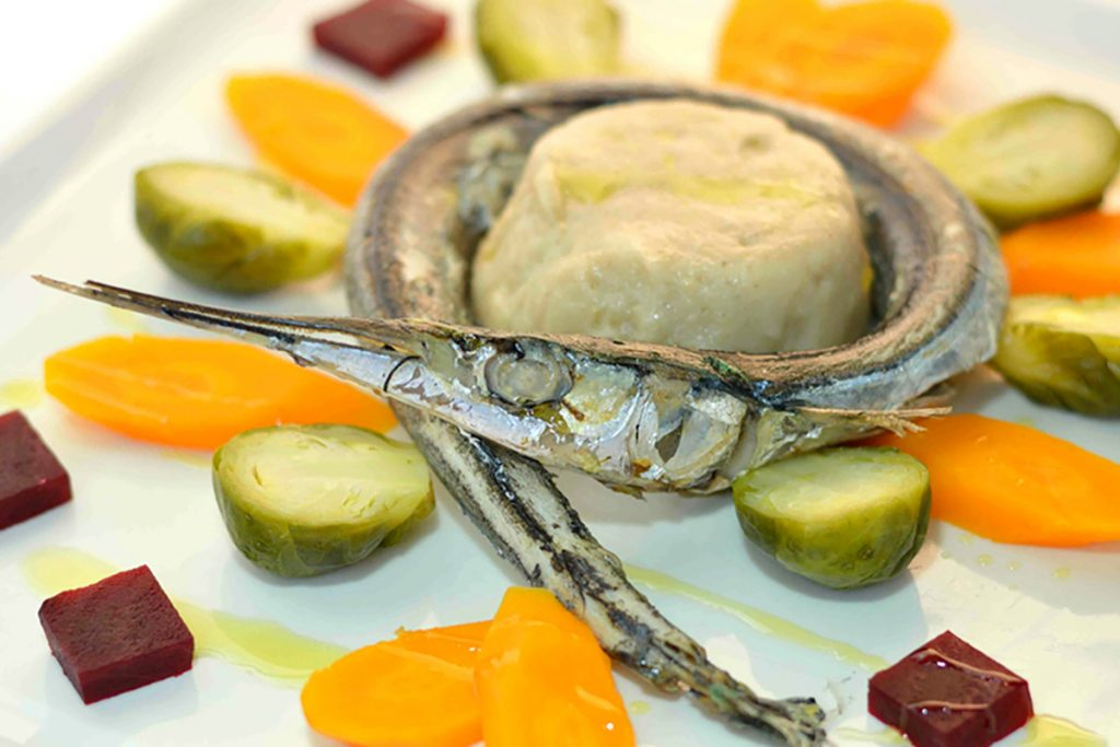 ricette con orzo polenta di orzo con aguglia e verdure