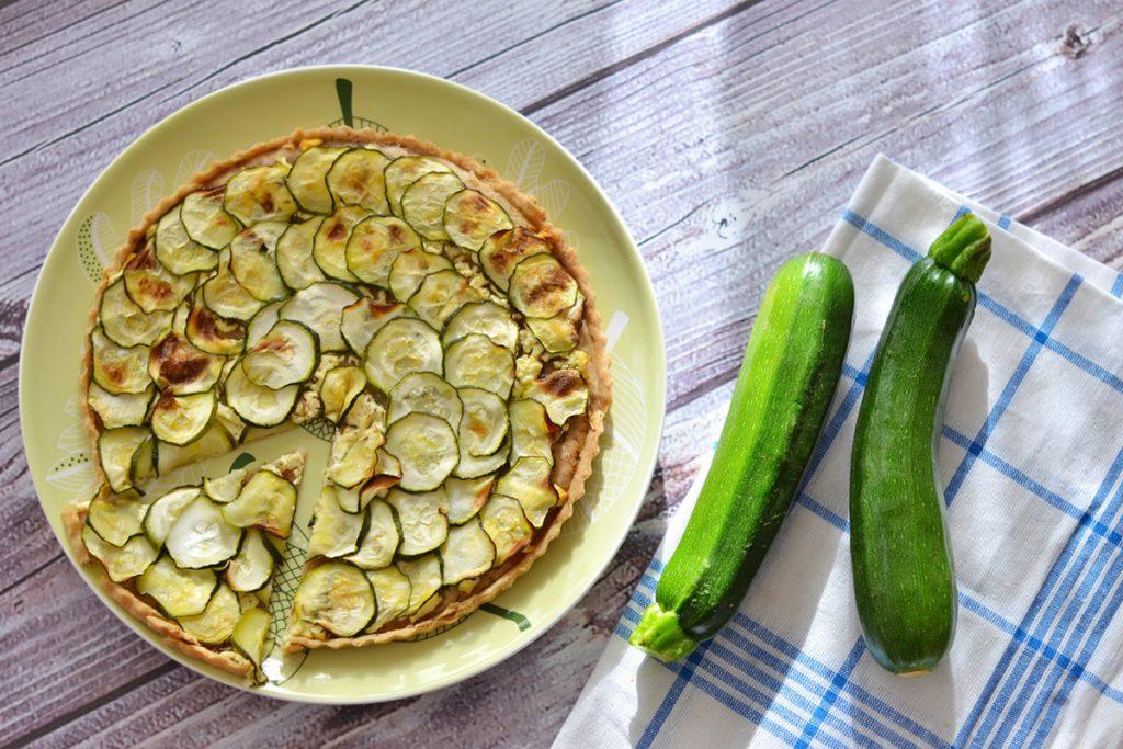 ricette con orzo torta rustica con orzo e zucchine
