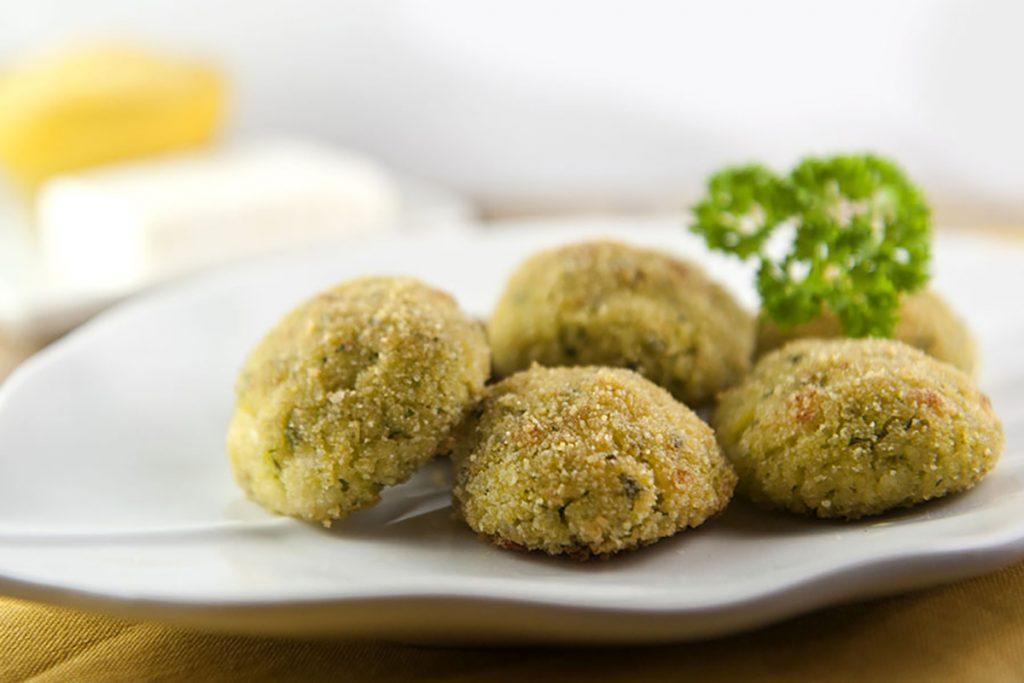 ricette con miglio polpettine di miglio con zucchine