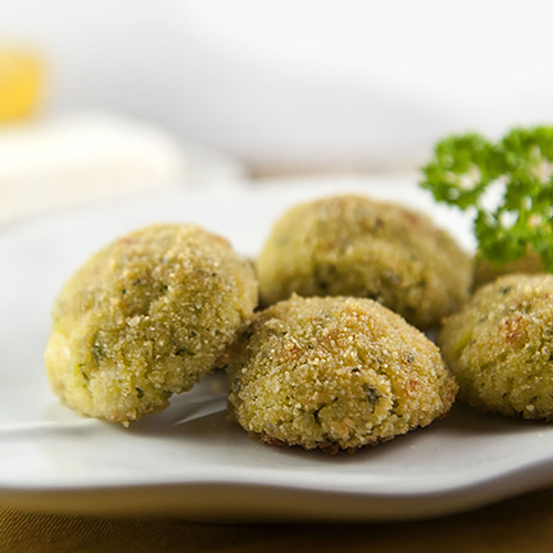ricette polpettine miglio con zucchine