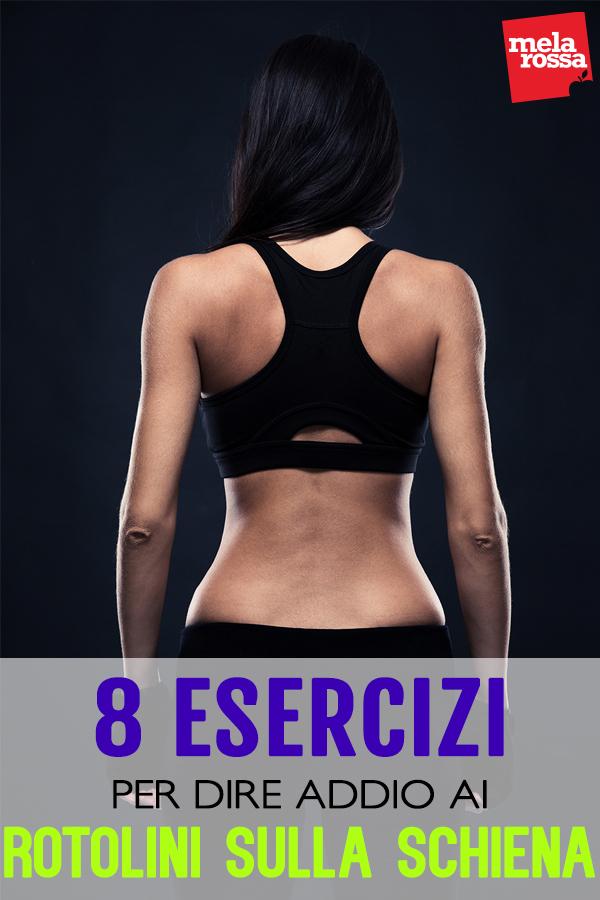 rotolini sulla schiena: esercizi da fare in casa
