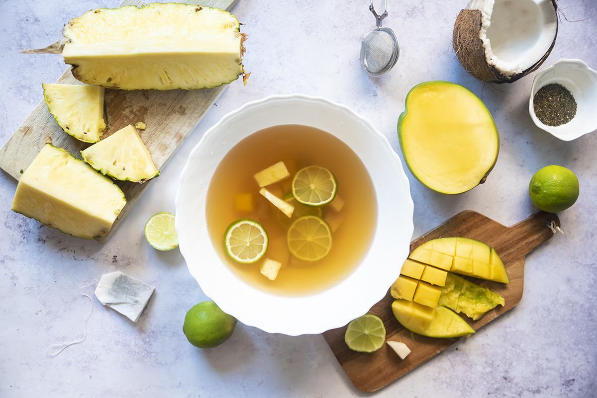 tè jasmin lime