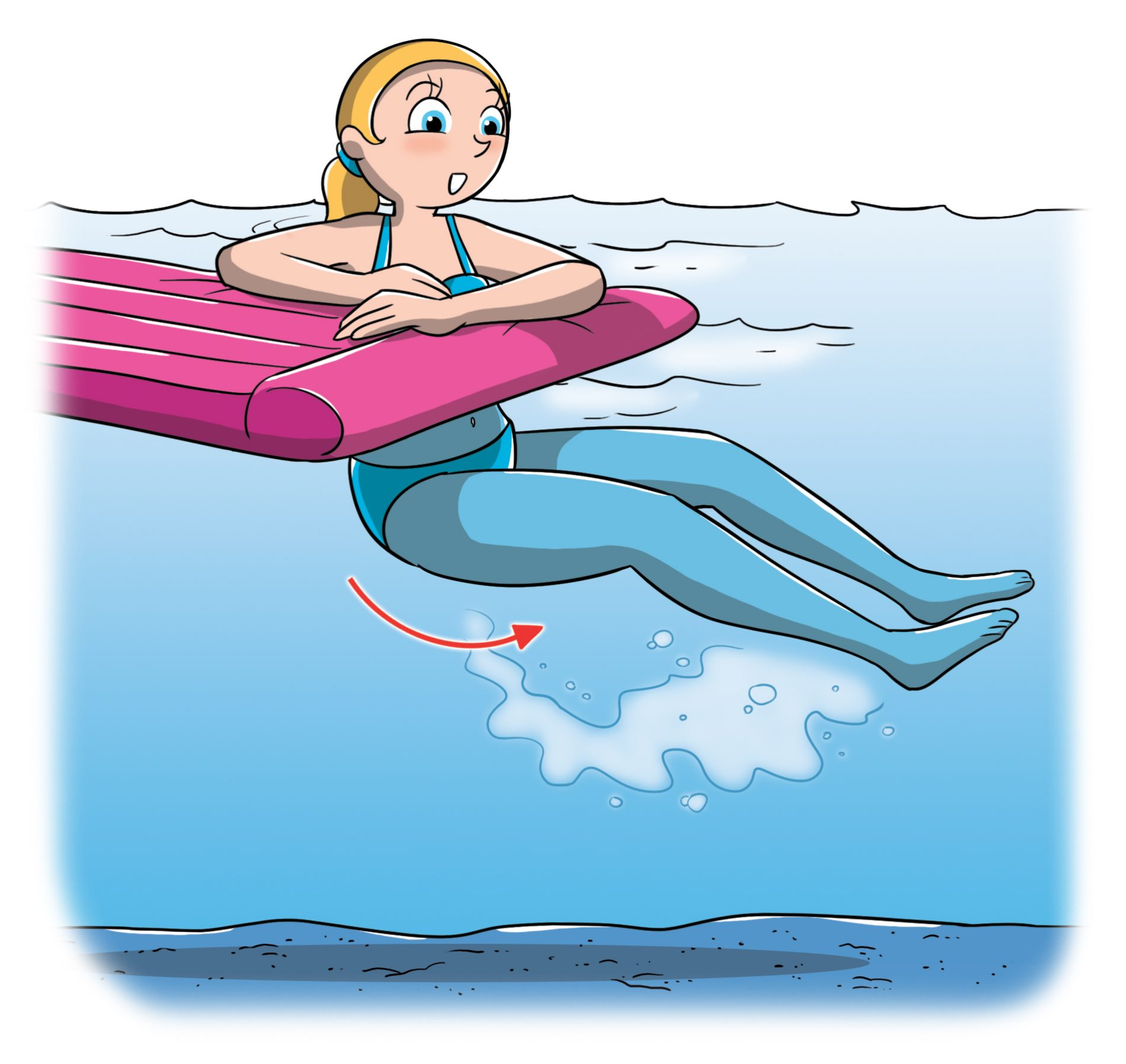 tonificazione muscolare al mare: addominali